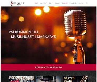 Musikhusetmarkaryd.se
