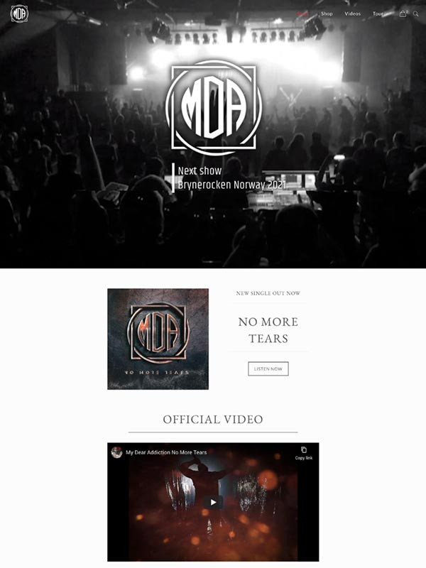 Mydearaddiction.com