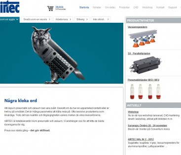 Airtec webshop