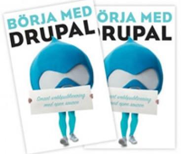 Bok om Drupal - på svenska!