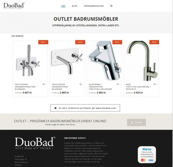 Duobad Outlet