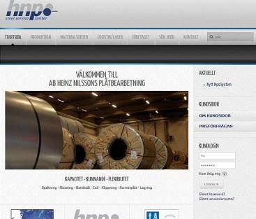 HNP Steel service center