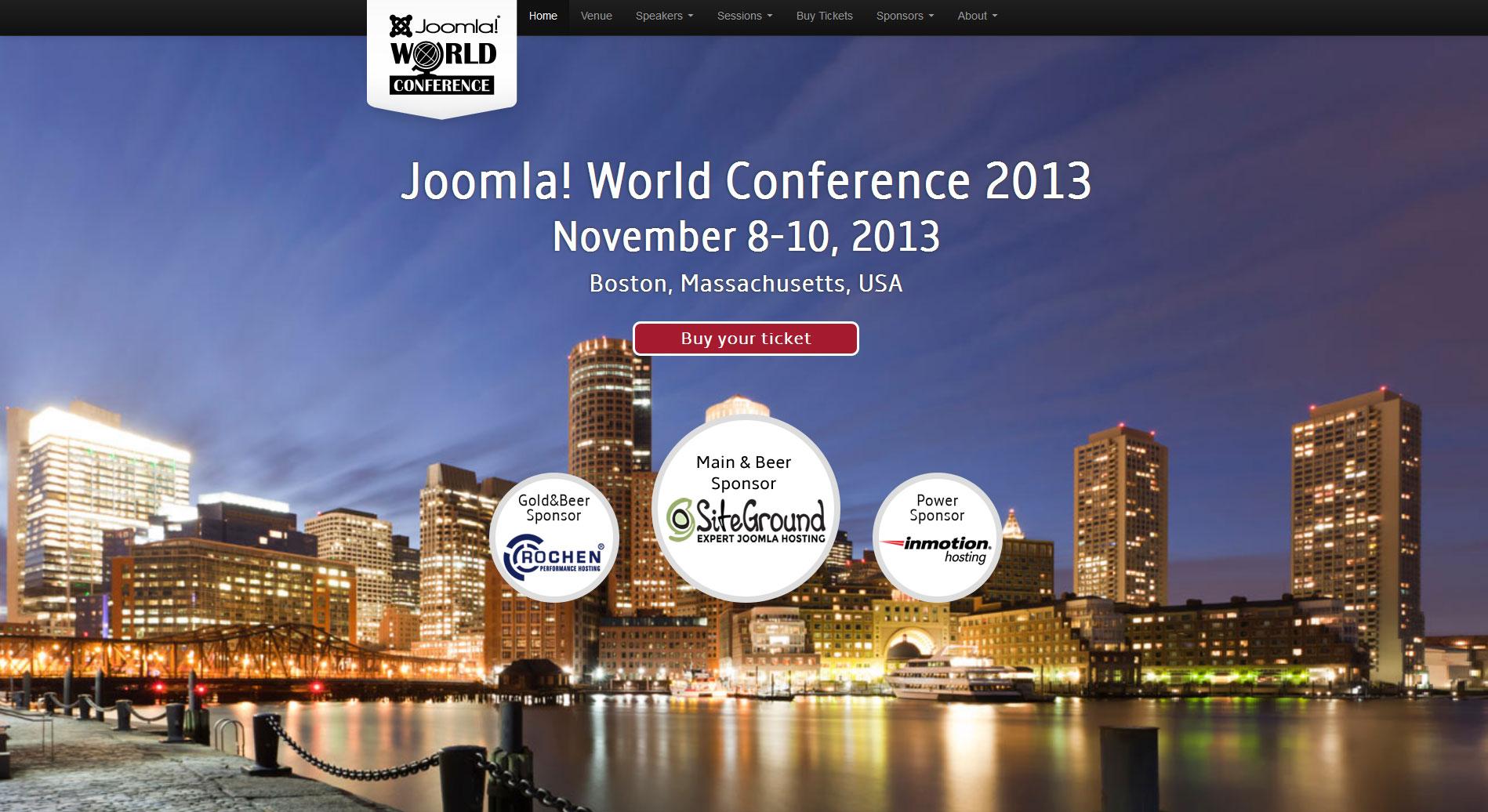 Joomla World Conference i Boston