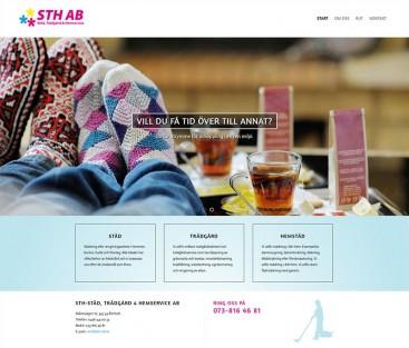 STH-Städ, Trädgård & Hemservice AB